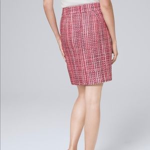 Tweed Boot Skirt